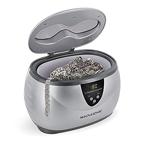 Magnasonic MGUC500 Professional Ultrasonic Jewelry Cleaner with Digital Timer