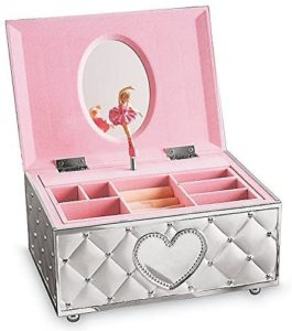 Lenox Childhood Memories Musical Ballerina Jewelry Box