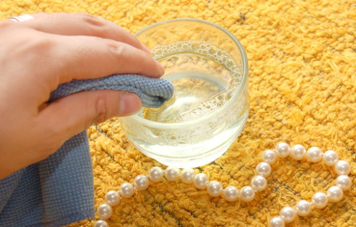 how to clean pearls at home